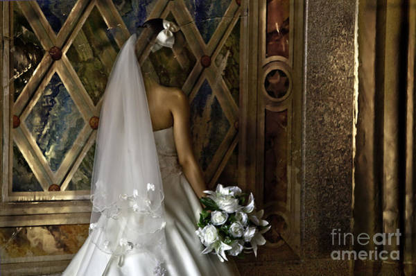 Wedding Bouquet Photograph -  Disappearing  by Madeline Ellis