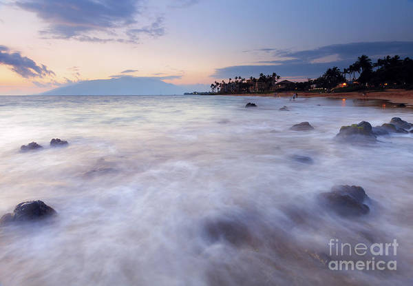 Kihei Photograph -  Dusk Over Paradise by Mike Dawson