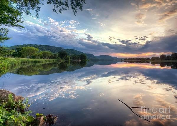 Photograph -  East Lake Sunset by Kari Yearous