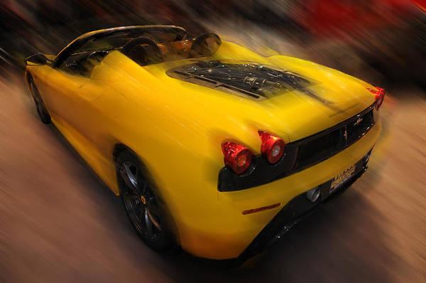 Photograph -     Ferrari Scuderia Spider 16m  by Dragan Kudjerski