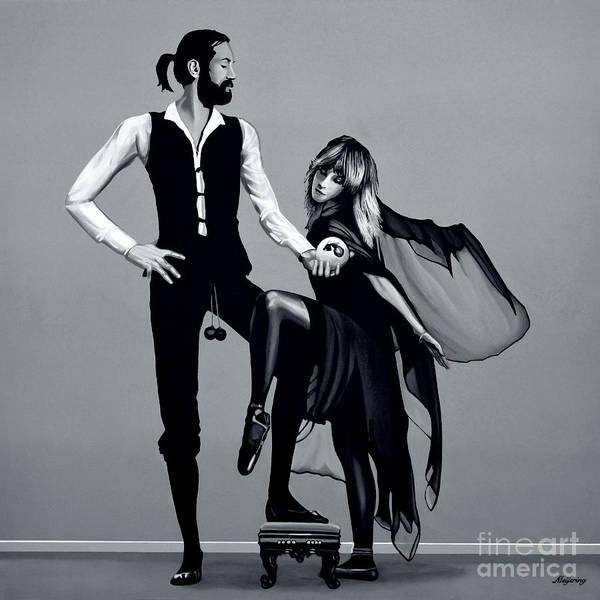 Hero Mixed Media -  Fleetwood Mac by Meijering Manupix