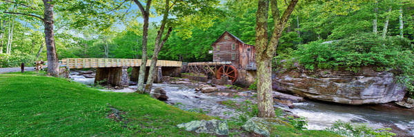 Photograph -  Glade Creek Gristmill by Mary Almond