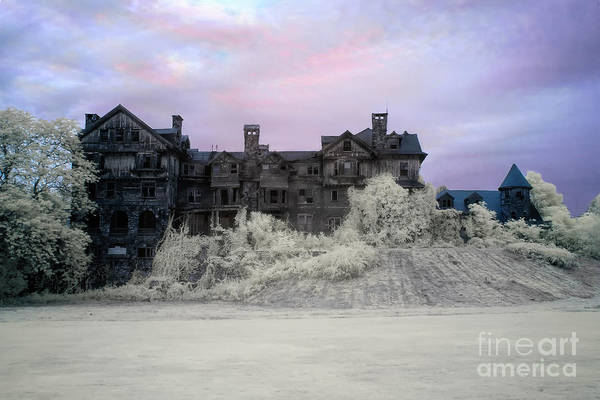 Photograph -  Halcyon Hall Infrared by Rick Kuperberg Sr