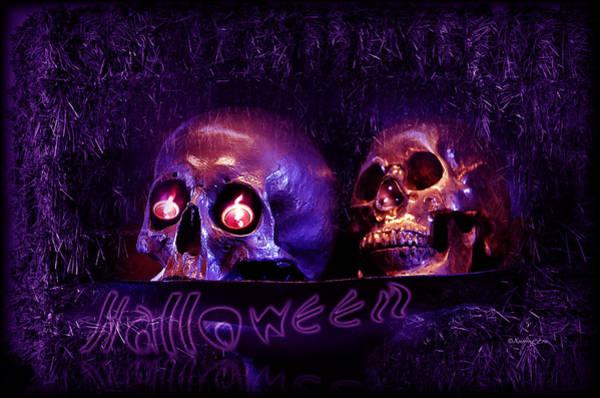 Digital Art -  Halloween Party  by Xueling Zou