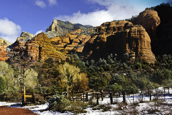 Grand Mesa National Forest Photograph -  Hancock Ranch In The Wilderness Area Of Sedona Az  by Bob and Nadine Johnston