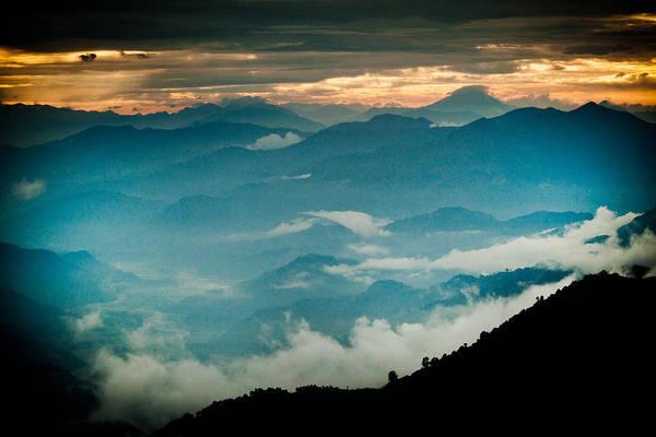 Wall Art - Photograph -  Himalayas Mountain Panaramic by Raimond Klavins