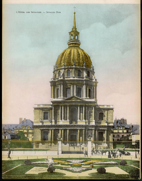 Invalides Photograph -  Hotel Des Invalides         Date Circa by Mary Evans Picture Library