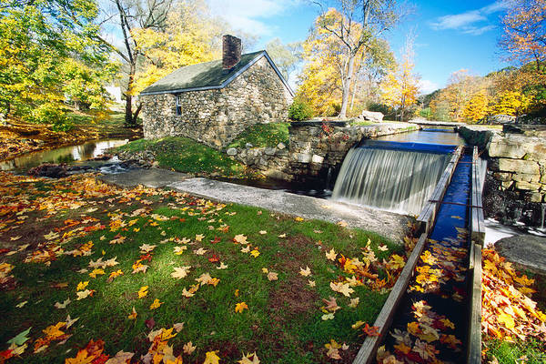 Village Creek Photograph -  Hut And Creek by George Oze