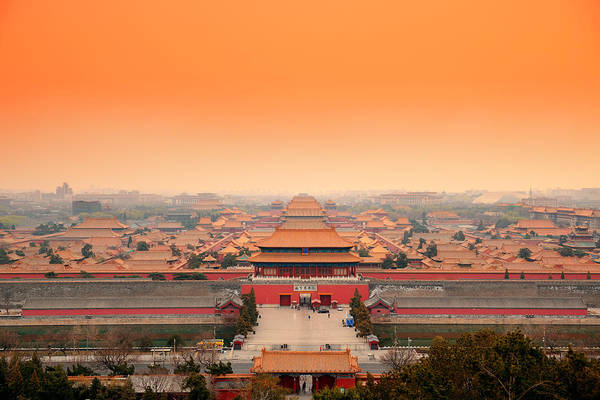Photograph -  Imperial Palace Beijing by Songquan Deng