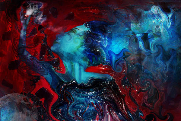 Wall Art - Digital Art -  In The Beginning There Was Light by Patricia Motley