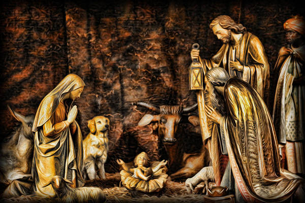 Wall Art - Photograph -  Jesus Had A Labrador by Lee Dos Santos
