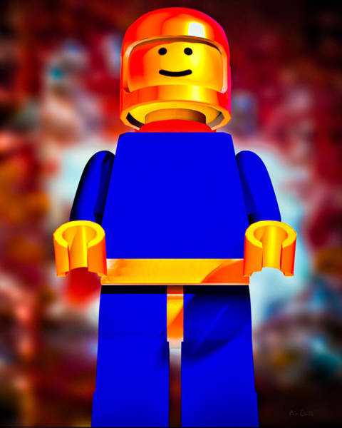 Photograph -  Lego Spaceman by Bob Orsillo