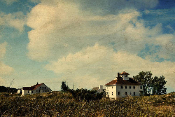 Photograph - Lifesaving Station At Point Betsie by Michelle Calkins