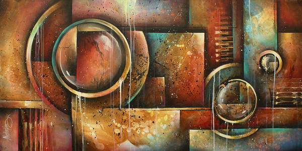 Platform Painting - ' Looking Back' by Michael Lang