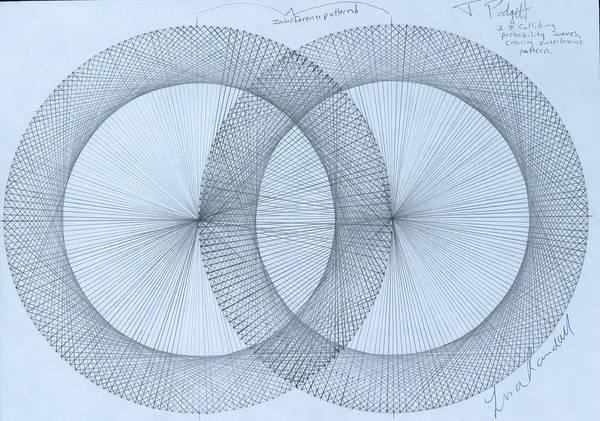 Wall Art - Drawing -  Magnetism by Jason Padgett
