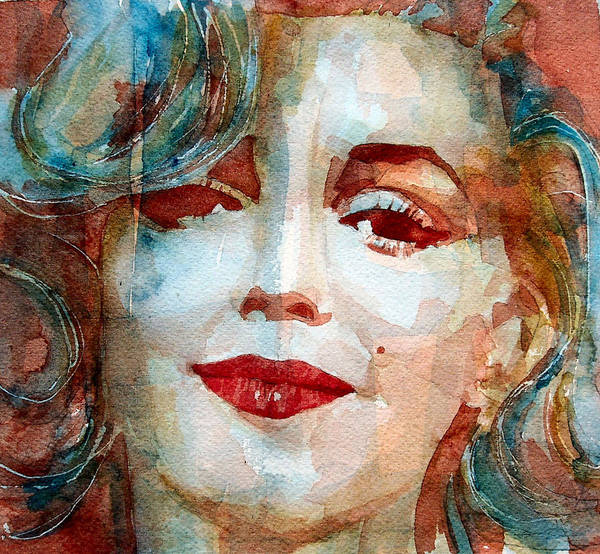 Screen Painting -  Marilyn   by Paul Lovering