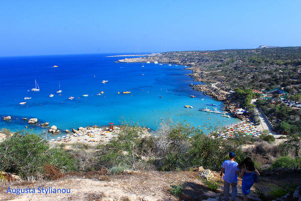 Photograph -   Mediterranean Sea by Augusta Stylianou