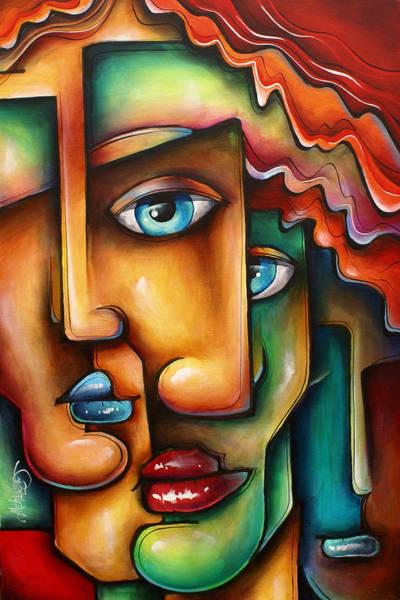 Wall Art - Painting - ' Mixed Emotions ' by Michael Lang