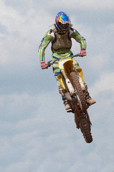 Dirtbike Photograph -  Motocross  by Roy Pedersen