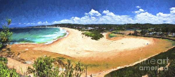 Wall Art - Photograph -  Narrabeen Lagoon Panorama by Sheila Smart Fine Art Photography