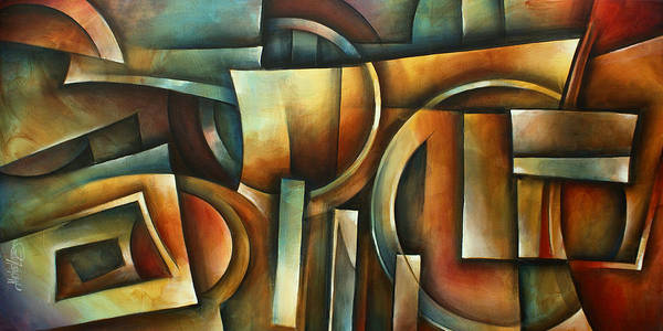 Wall Art - Painting - ' Natural Position' by Michael Lang