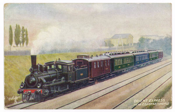 Wall Art - Drawing -  Near Its Eastern Terminus At by Mary Evans Picture Library