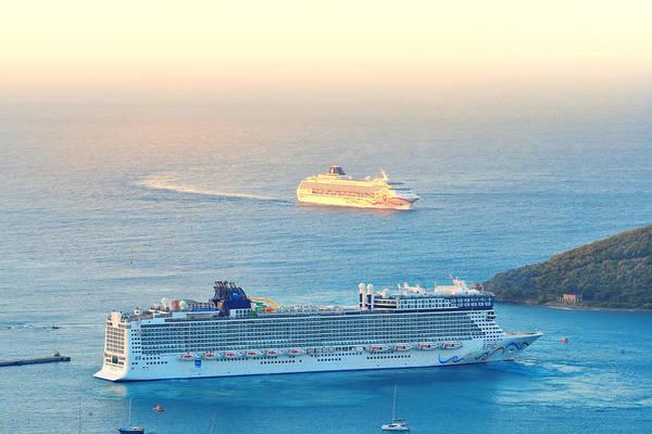 Photograph -  Norwegian Cruise Line by Songquan Deng