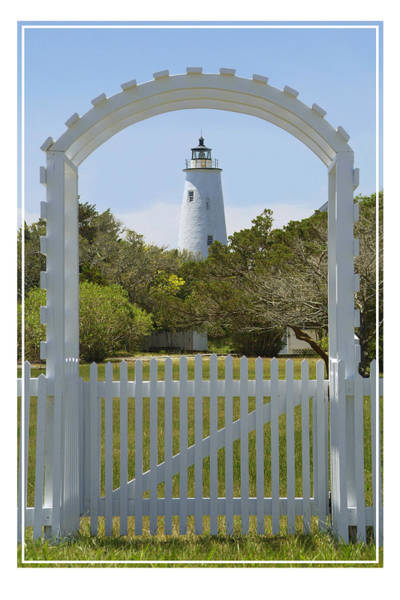 Outer Banks Wall Art - Photograph -  Ocracoke Island Lighthouse by Mike McGlothlen
