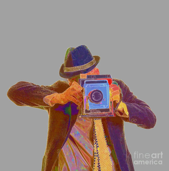 Wall Art - Photograph -  Paparazzi by Edward Fielding