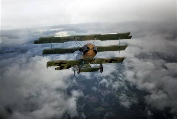 Baron Photograph -  Pioneers Of Aviation by Jason Green