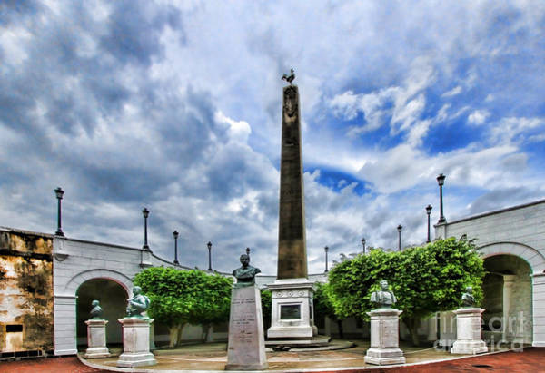 Photograph -  Plaza De Francia by Diana Raquel Sainz