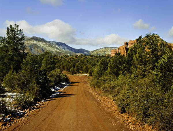 Grand Mesa National Forest Photograph -  Red Canyon Road Sedona Back Country by Bob and Nadine Johnston