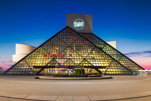 North Coast Harbor Photograph -  Rock And Roll Hall Of Fame And Museum by Emmanuel Panagiotakis