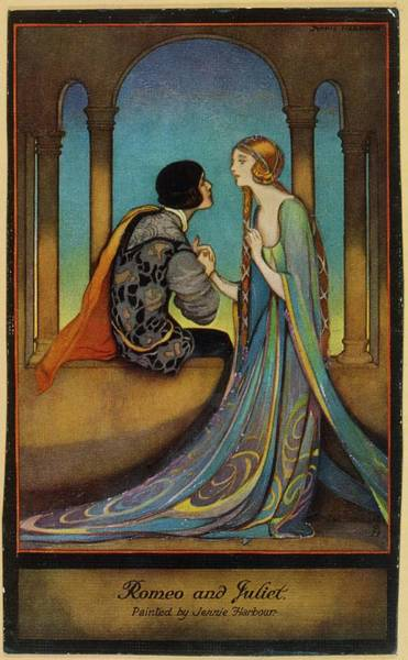 Romeo And Juliet Wall Art - Drawing -  'romeo & Juliet'         Date by Mary Evans Picture Library