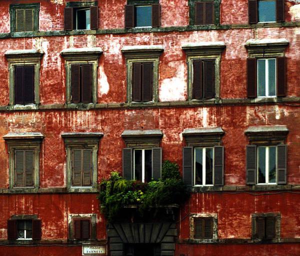 Photograph -  Rome's Windows by Emanuel Tanjala