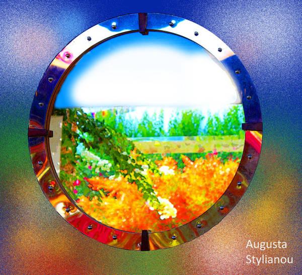 Digital Art -  Round Landscape by Augusta Stylianou
