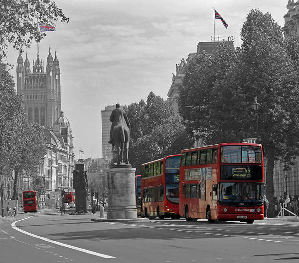 Routemaster London Buses Art Print