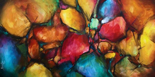 Wall Art - Painting - ' Setting' by Michael Lang
