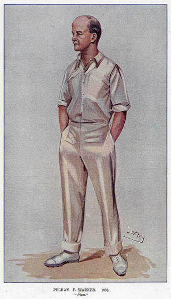 Wall Art - Drawing -  Sir Pelham Francis Warner  ('plum') by Mary Evans Picture Library