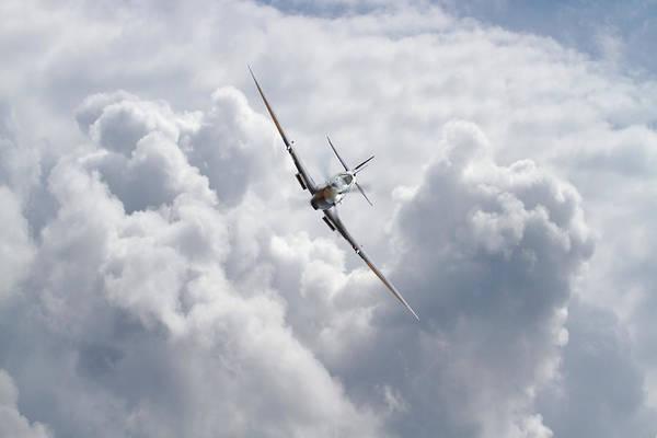 Battle Of Britain Digital Art -  Spitfire - Magic Of Flight by Pat Speirs