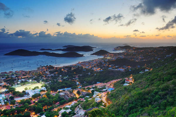 Photograph -  St Thomas Sunset by Songquan Deng