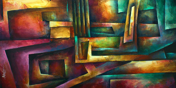 Wall Art - Painting - ' Stairway To Oblivion' by Michael Lang