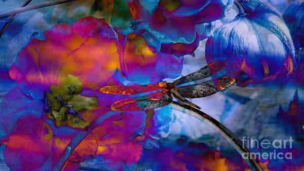 Dragonflies Digital Art -  Stunning  Photographic Art Dragonfly by Beverly Guilliams