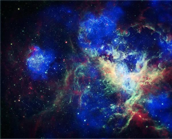 Wall Art - Photograph -  Tarantula Nebula 3 by Jennifer Rondinelli Reilly - Fine Art Photography