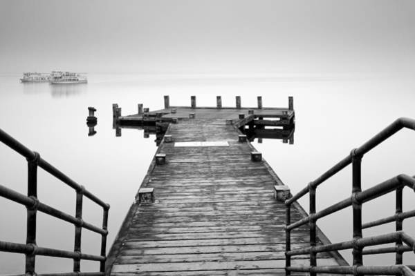 Photograph -   Tarbet Pier Loch Lomond by Grant Glendinning