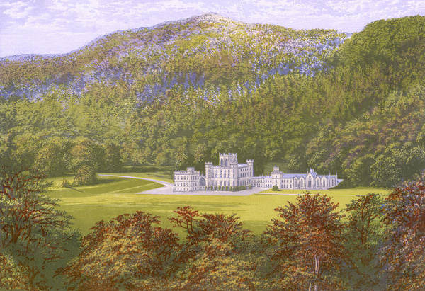 Wall Art - Drawing -  Taymouth Castle,  Perth        Date by Mary Evans Picture Library