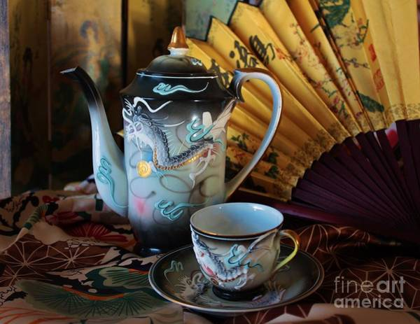 Wall Art - Photograph -  Tea And Calligraphy by Marcia Breznay