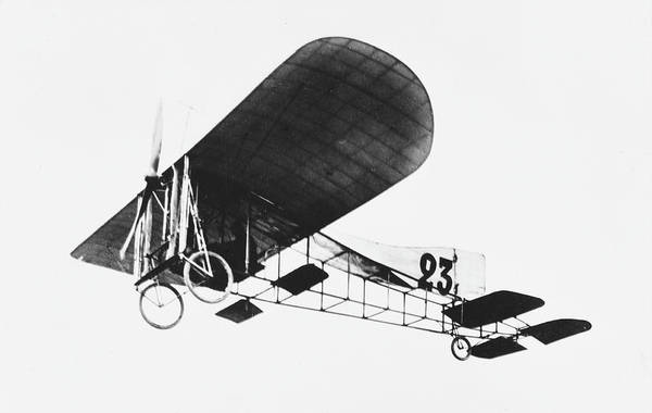 Bleriot Photograph -  The Bleriot Xii At Reims         Date by Mary Evans Picture Library