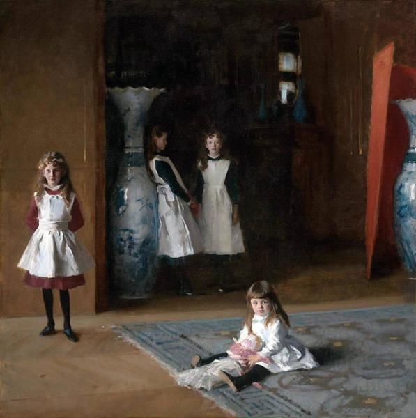 The Daughters Of Edward Darley Boit Art Print