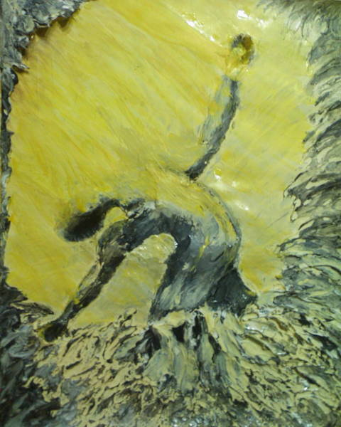 Anguish Mixed Media -  The Hazards Of Hope by Caryl-Marie Barron